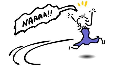 running-screaming